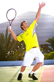 abbigliamento da tennis uomo